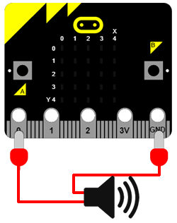 Connect micro:bit to a speaker