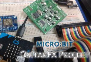 microbit guitar fx project