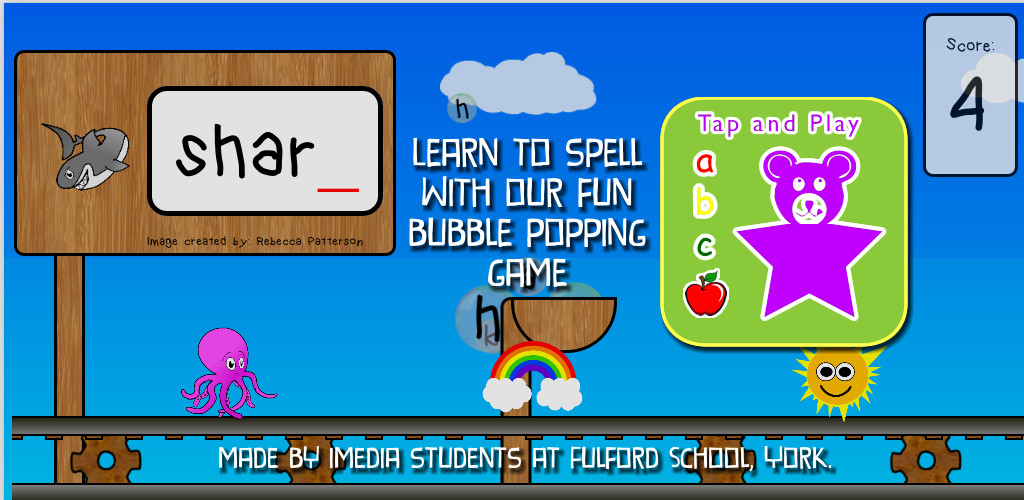 ABC Tap and Play: Student-made spelling app raises money for charity