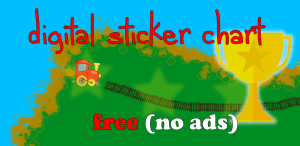 digital sticker chart: free (no ads)