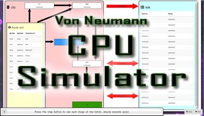 CPU Fetch Decode Execute simulator for OCR A Level