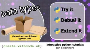 Convert and use different types of data