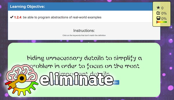 eliminate: free computing games
