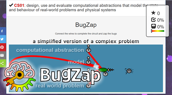 Bug Zap free computing games