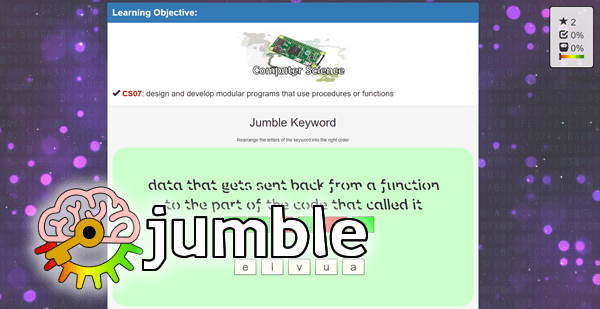 jumble: free computing games